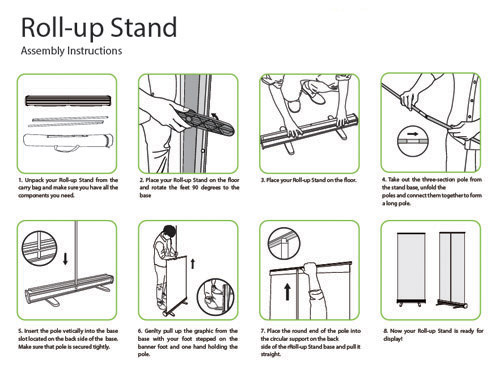 Set Up Your Roll-up Stand